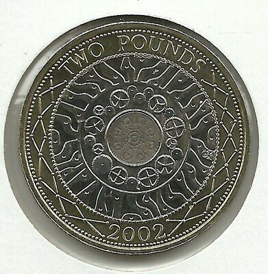 GREAT BRITAIN 2 Pounds 2002  KM#994