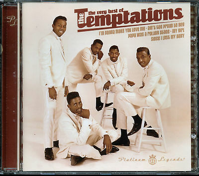 The Very Best of The Temptations (CD, 2004 , Universal)