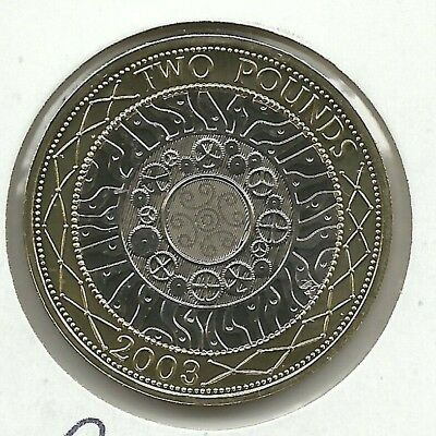 GREAT BRITAIN 2 Pounds 2003  KM#994