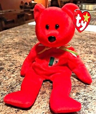 Ty Osito the Teddy Bear Beanie Baby with Tag - 1999 - Retired - Mint!