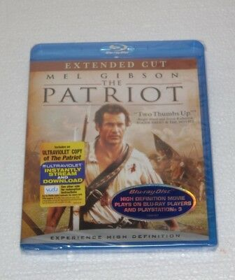 The Patriot  Blu-ray Disc, 2007, Extended Cut  Mel Gibson