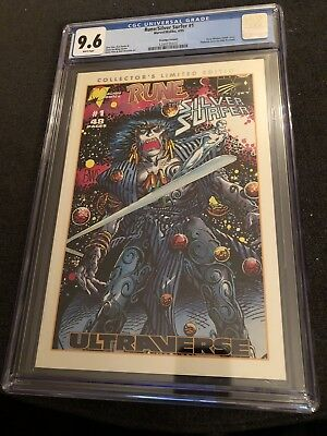Silver Surfer/ Rune #1 Collectors Limited Edition CGC 9.6 Rare! 1st Printing 95'
