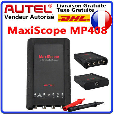 AUTEL MaxiSys PRO Electrical Signals 4 Channel Auto Oscilloscope Kit MK808 MS908