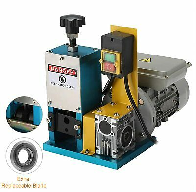 Portable Powered Electric Wire Stripping Machine 1/4HP Comercial  Cable Stripper