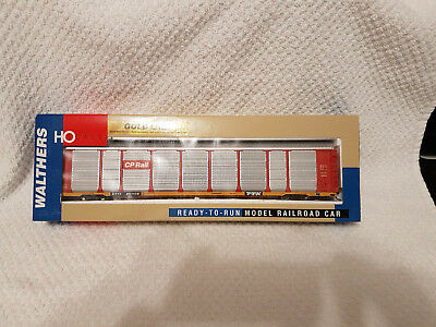 Walthers Gold Line Thrall 89' Tri-Level Auto Carrier - CP Rail #851138 -HO Scale