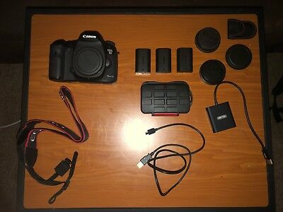Canon 5D Mark III Body + Equipment / GREAT CONDITION