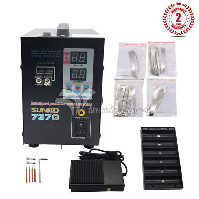 737G Spot Welder 1.5KW Battery Spot Welding LED Light for 18650 Battery Pack TOP