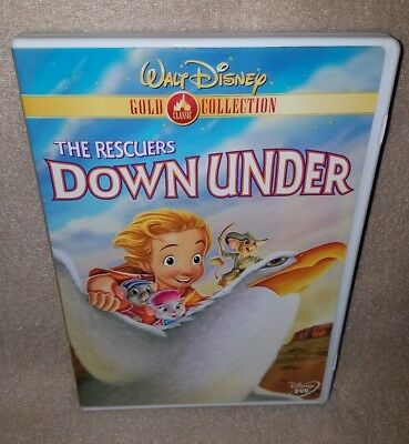 THE RESCUERS DOWN UNDER (Disney DVD) Gold Collection Edition (Like New)