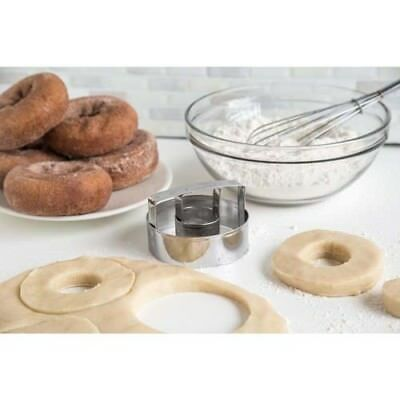 3pcs//set Fancy Scallop  Cookie Biscuit Pastry Cutter Set Of Stainless Steel B/_WK