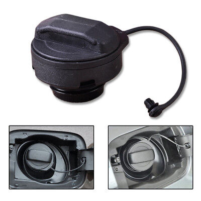 1Pc Car Black OEM Fuel Cap Tank Cover Petrol Diesel For VW AUDI A4 A6 Golf Bora