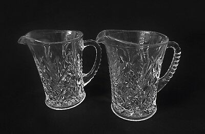 Pair of Cut Glass Jugs