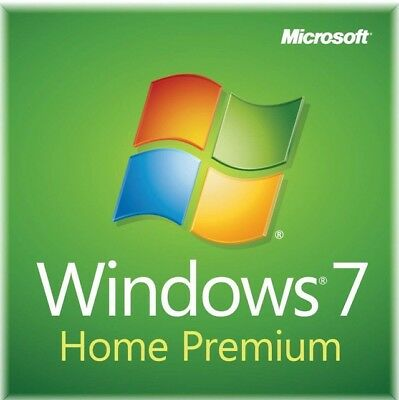 Microsoft Windows 7 Home Premium 64 Bit [Sealed package]