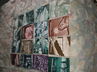 Lot of 16 Christian Woman Magazine Issues / Pamphlets 1961-1962