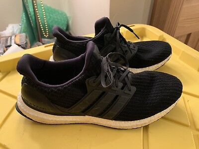 d412f988ae7d7 Adidas Ultra Boost 4.0  BB6166  Running Shoes Core Black Men s Size 11.5