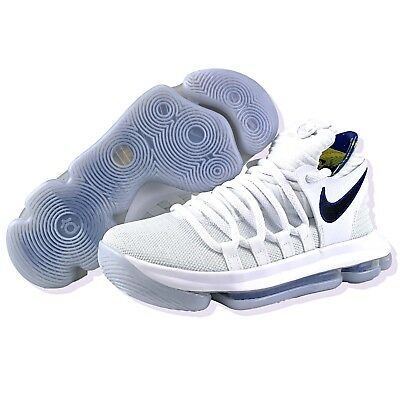 470855bbbd6e Nike KD 10 4.5Y Youth GS Size 6 Womens Limited NBA Golden State Warriors  White