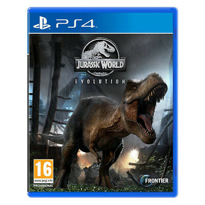 Jurassic World Evolution PlayStation PS4 2018 EU English Chinese Factory Sealed