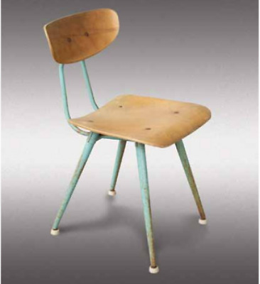 Vintage Child's Pocket School Chair -- American Seating Company