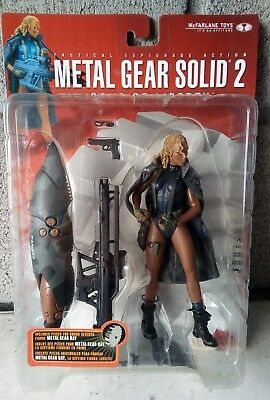 McFarlane action figure metal gear solid 2 fortune new nuova