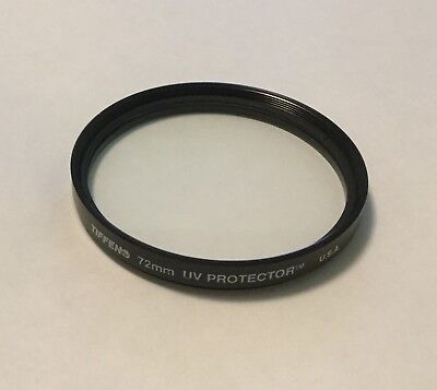 Tiffen 72mm UV Protector Made in USA