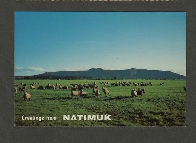 e3110)            POSTCARD VIEW OF MOUNT ARAPILES IN  VICTORIA AUSTRALIA
