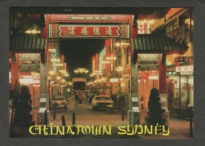 e2732)      POSTCARD OF  CHINATOWN  IN SYDNEY  N.S.W.  AUSTRALIA