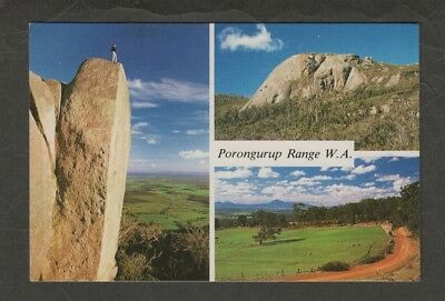 e3113)           POSTCARD OF THE PORONGURUP RANGE IN WESTERN AUSTRALIA
