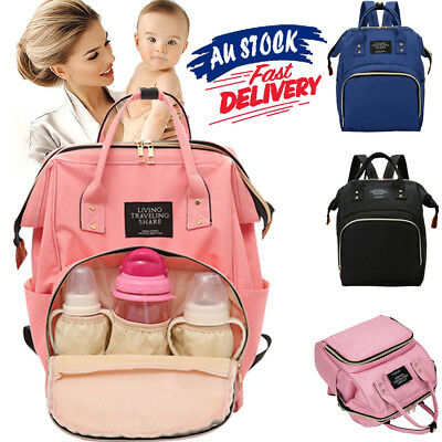 Luxury Nappy Diaper Waterproof Backpack Multifunctional Baby Mummy Bag Changing