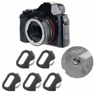 Portable 5Pcs Replacement Split Ring Camera Strap Triangle Rings Hook Accessory