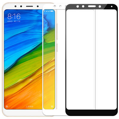 3D Full Cover Tempered Glass Curved Screen Protector For Xiaomi Redmi Note 5 HOT