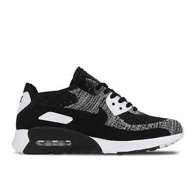 new arrival 01208 879e8 Femmes Nike Air Max 90 Ultra 2.0 Flyknit Baskets Noires 881109 002