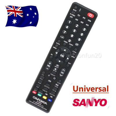 Universal Smart TV Remote Controls For SANYO 3D LCD LED HD TV Replacement