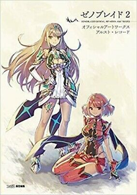 XENOBLADE2 XENOBLADE 2 OFFICIAL ART WORKS ALST RECORD Illustration Book Free-S