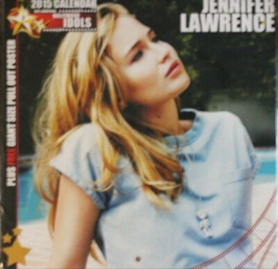 jennifer lawrence unofficial calendar 2015 new and sealed