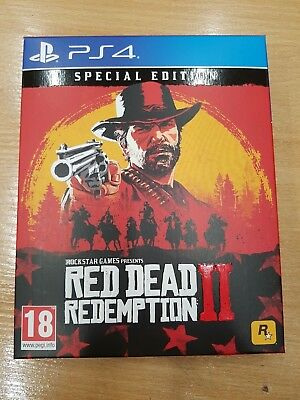 RED DEAD REDEMPTION 2 Collectors Steel Book *No Game