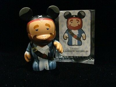 DISNEY 3 VINYLMATION PARK 3 PIRATE AUCTIONEER CARD ONLY