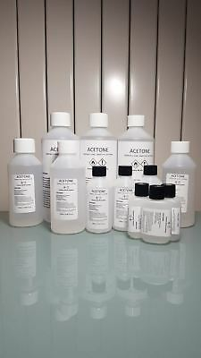 Acetone 99.9% - Nail Varnish/ Gel Polish Remover 30ml Buy More Save More