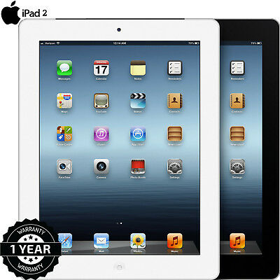 Apple iPad 2 16gb 64gb ipad 2 apple 9 7in wifi 3g black white 32gb Wi Fi Various