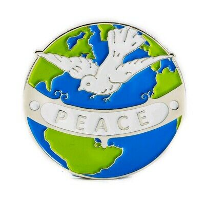 # World Peace # Climate Change # Extinction Rebellion Enamel Pin Badge