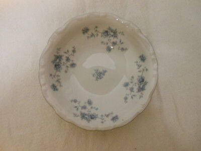 Vtg JOHANN HAVILAND Bavaria Germany Blue Garland CHINA Berry Bowl