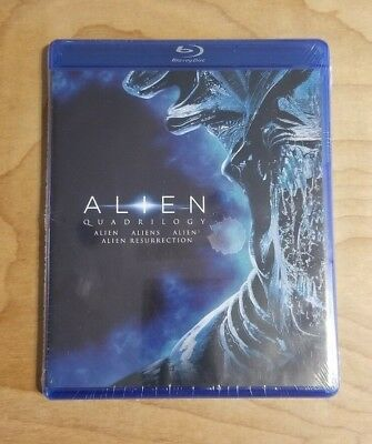 Alien Quadrilogy (Blu-ray Disc, 2014) NEW & SEALED!