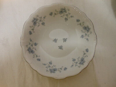 Vtg JOHANN HAVILAND Bavaria Germany Blue Garland CHINA Lg Soup Bowl
