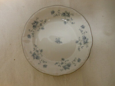 Vtg JOHANN HAVILAND Bavaria Germany Blue Garland CHINA Salad/Dessert Plate