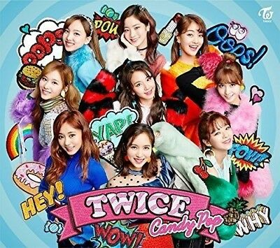 TWICE Candy Pop First Limited Edition Type A CD DVD