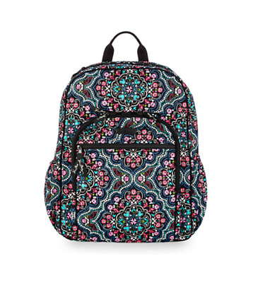 NWT VERA BRADLEY Campus Backpack in Medallion Pattern -  79.99 ... 94cf2d4e2a