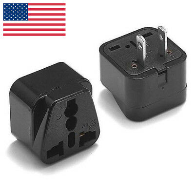 EU/UK to US Europe Universal Travel Adapter Charger Converter Power Plug Socket