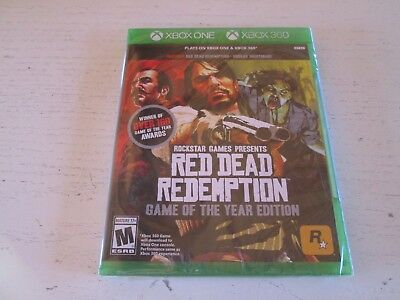Red Dead Redemption -- Game of the Year Edition (Xbox 360 & Xbox One). Brand New