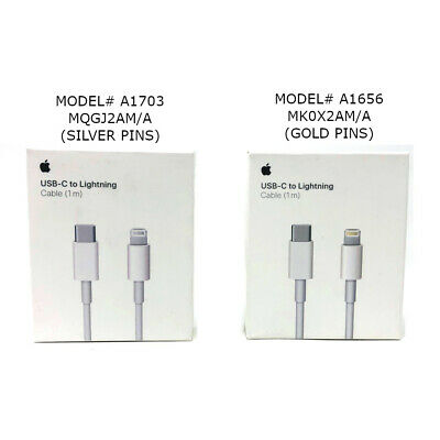 Authentic Apple MK0X2AM/A Type C to Lightning Cable Type-C Model - A1656 - A1703