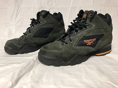 1d9f4adc24ab Mens Reebok Hiking Boots Excellent Condition Size 10.5 Vintage 90 s Green