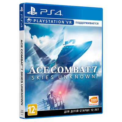 *NEW* Ace Combat 7: Skies Unknown (PS4/PS VR, 2019) English, Russian