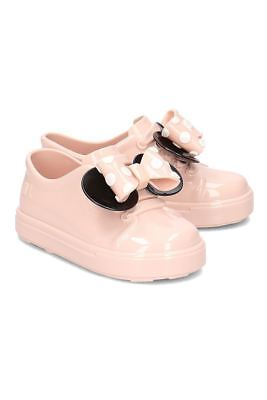 ca0aa7a891b0 MINI MELISSA  PINK Minnie Mouse Jelly Shoes (uk Infant 7.5) 24 fairy ...